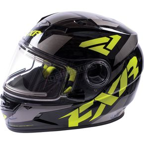 FXR Racing Youth Charcoal/Hi-Vis Nitro Helmet - 16414.70113