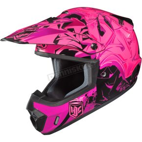 HJC Pink/Black CS-MX 2 Graffed MC-8 Helmet - 322-984