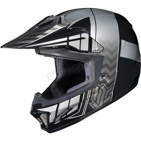 HJC Youth Black/Gray/Silver CL-XY 2 Cross-Up MC-5 Helmet - 57-4952