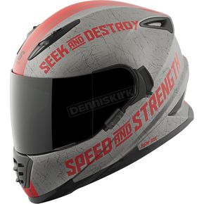 Speed and Strength Red Cruise Missile SS1600 Helmet - 87-1450