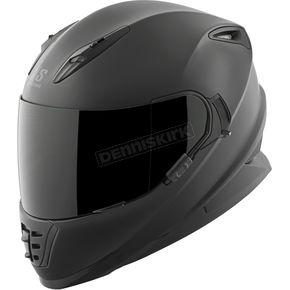 Speed and Strength Solid Matte Black SS1600 Helmet - 87-1436