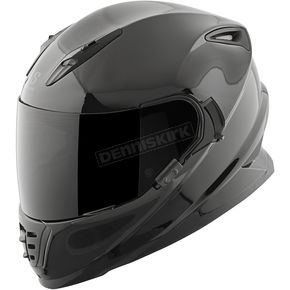 Speed and Strength Solid Gloss Black SS1600 Helmet - 87-1444