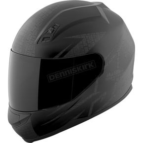 Speed and Strength Matte Black Hammer Down SS700 Helmet - 87-1403