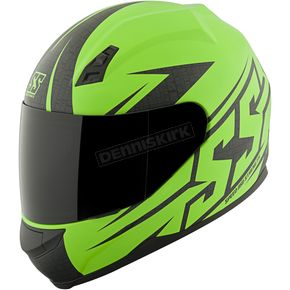 Speed and Strength Matte Green Hammer Down SS700 Helmet - 87-1406
