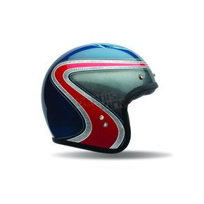 Bell Helmets Blue/Red Airtrix Hertiage Custom 500 SE Helmet - 7070044