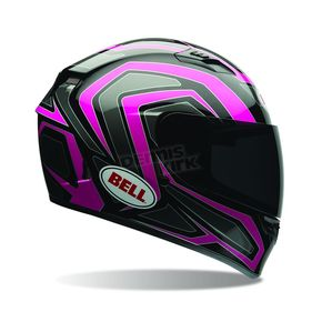 Bell Helmets Black/Pink Machine Qualifier Helmet - 7070121