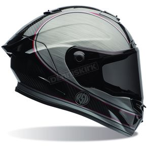 Bell Helmets Silver/Black RSD Chief Race Star Helmet - 7069711
