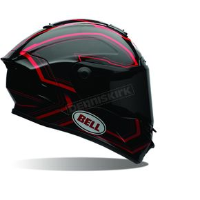 Bell Helmets Black/Red Pace Star Helmet - 7069732
