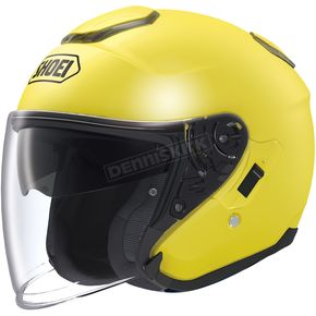Shoei Helmets Brilliant Yellow J-Cruise Helmet - 0130-0123-05
