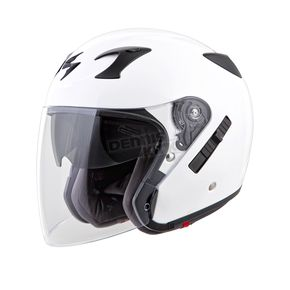 Scorpion White EXO-CT220 Helmet - 22-0203