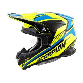 Scorpion Neon/Blue VX-R70 Ascend Helmet - 70-6706