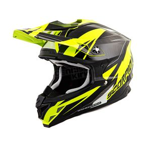 Scorpion Neon Yellow/Black VX-35 Krush Helmet - 35-1812