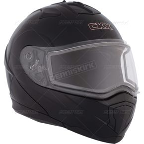 CKX Black Tranz 1.5 RSV Modular Snow Helmet w/Electric Shield - 501347