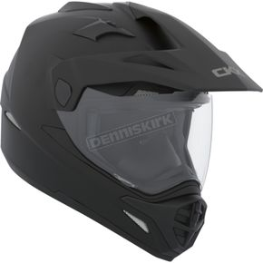 CKX Matte Black Quest Snow Helmet w/Electric Shield - 503876