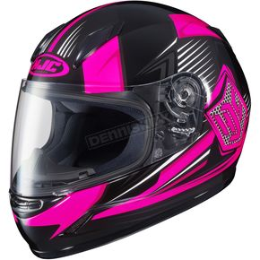 HJC Youth Neon Pink/Black CL-Y MC-8 Striker Helmet - 55-2084
