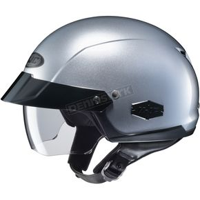 HJC Silver IS-Cruiser Half Helmet - 58-0538