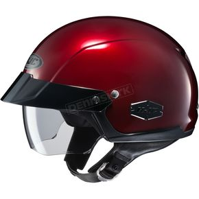 Wine IS-Cruiser Half Helmet