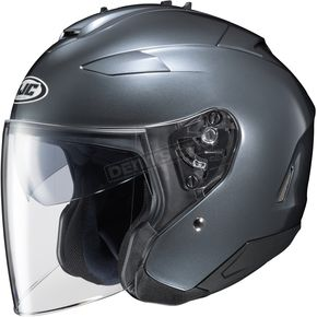 HJC Metallic Anthracite IS-33 II Helmet - 58-1196