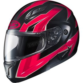 HJC Red/Black CL-Max 2 MC-1 Ridge Modular Helmet - 978-919