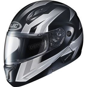 HJC Gray/Black CL-Max 2 MC-5 Ridge Modular Helmet - 59-4559T