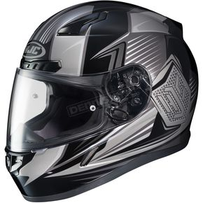 HJC Black/Gray CL-17 MC-5 Striker Helmet - 57-9372