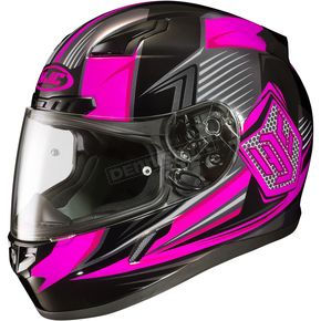 HJC Neon Pink/Black CL-17 MC-8 Striker Helmet - 57-9388