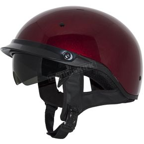 Zox Candy Red Roadster DDV Helmet - Z88-00481