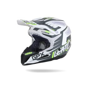 Leatt 2015 Black/White/Lime GPX 5.5 Helmet - 1015500162