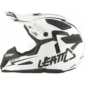 Leatt Youth White/Black GPX 5.5 V06 Helmet - 1015500071
