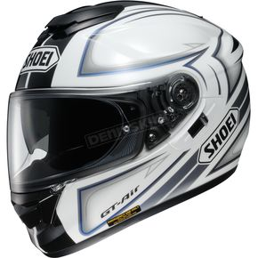 Shoei Helmets Black/White/Gray GT-Air Expanse TC-6 Helmet - 0118-1706-08