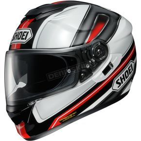 Shoei Helmets Black/Red/White GT-Air Dauntless TC-1 Helmet - 0118-1801-04