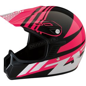 Z1R Youth Gloss Pink Roost SE Helmet - 0111-1042