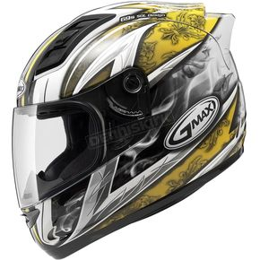 GMax White/Yellow GM69S Platinum Series Crusader 2 - 72-4884X