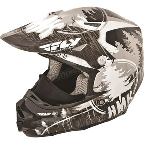 Fly Racing Black HMK Stamp F2 Carbon Helmet - 73-4921M