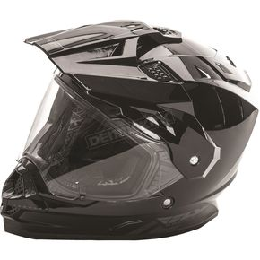 Fly Racing Black Trekker Helmet - 73-7010X