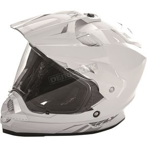Fly Racing White Trekker Helmet - 73-7013XS