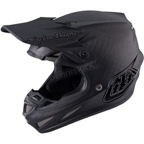 Troy Lee Designs Midnight Matte Black SE4 Carbon Helmet - 102002203