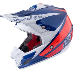 Troy Lee Designs Navy Corse 2 SE3 Helmet - 109123301