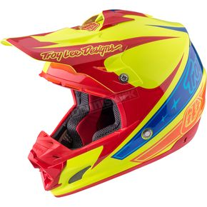 Troy Lee Designs Yellow Corse 2 SE3 Helmet - 109123504