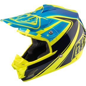 Troy Lee Designs Yellow Neptune SE3 Helmet - 109125506