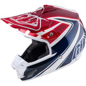 Troy Lee Designs White Neptune SE3 Helmet - 109125102