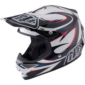 Troy Lee Designs White Air Vortex Helmet - 117048102