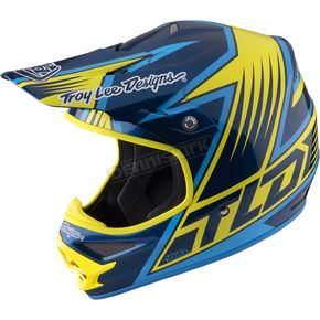 Troy Lee Designs Yellow Air Vengence  Helmet - 117126501