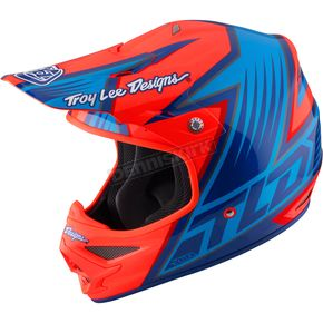 Troy Lee Designs Orange Air Vengence Helmet - 117126705
