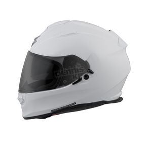 Scorpion Gloss White EXO-T510 Helmet - T51-0053