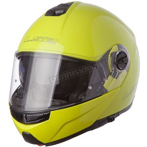 LS2 Yellow Strobe FF325 Modular Helmet with Sunshield - 325-1065