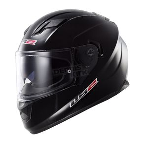 LS2 Black Stream FF328 Full Face Helmet - 328-1003