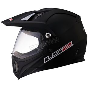 LS2 Matte Black MX453 Adventure Helmet  - 453-1002