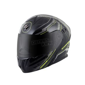 Scorpion Black/Neon EXO-GT920 Satellite Modular Helmet - 92-1034