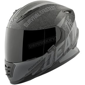 Speed and Strength Black/Gray Quick and the Dead SS1310 Helmet - 874838